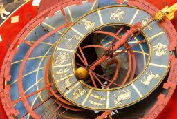 14939508 - famous zytglogge zodiacal clock in bern, switzerland