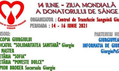 ziua mondiala a donatorului de sange