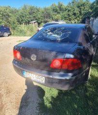 Clejani -masina vandalizata
